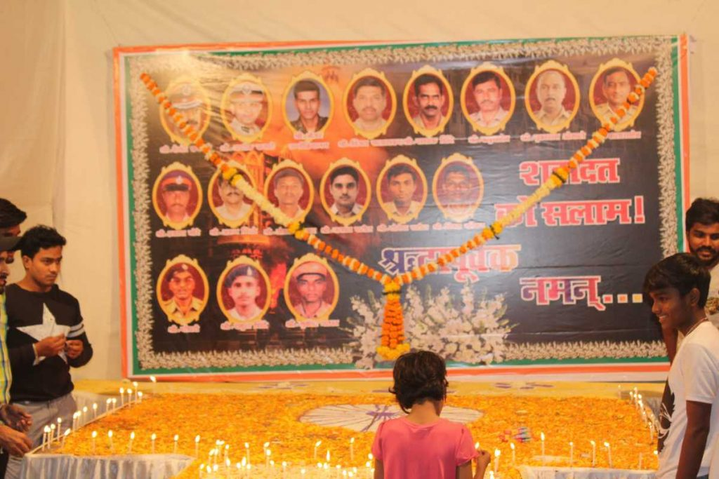 2611 attack शहीदों को श्रद्धंजलि Tributes Mumbai tribute martyrs