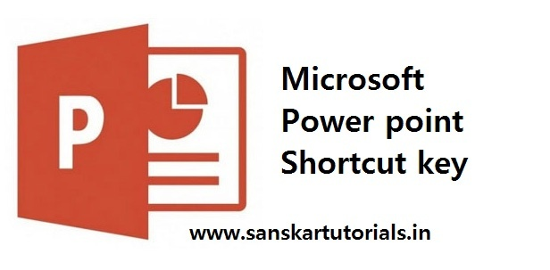 Microsoft Power point Shortcut key