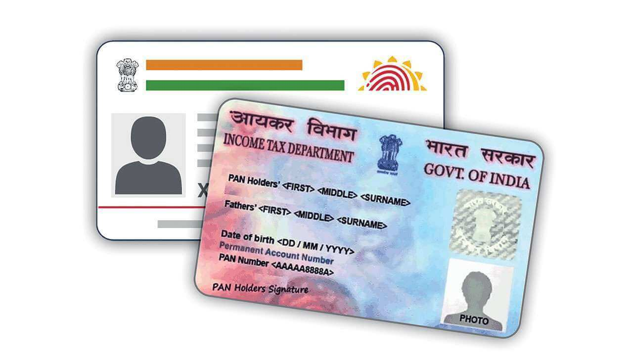aadhar card pan card link आधार-पैन कार्ड को लिंक Aadhar Pan Card Link