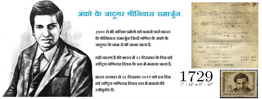 श्रीनिवास रामानुजन Shrinivas Ramanuj