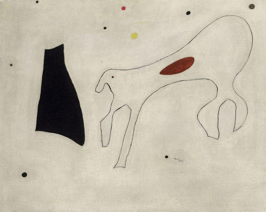 Peinture-Le-Chien-By-Joan-Miro