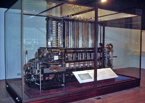 Charles Babbage Computer Design