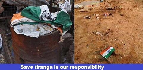 Save tiranga is our responsibility