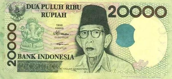 Ganpati on Indonesia Currency