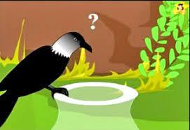 thirsty crow story in hindi प्यासा कौआ की कहानी हिंदी में