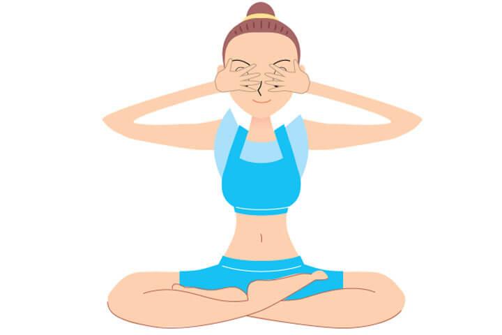 Bhramari Yoga pose