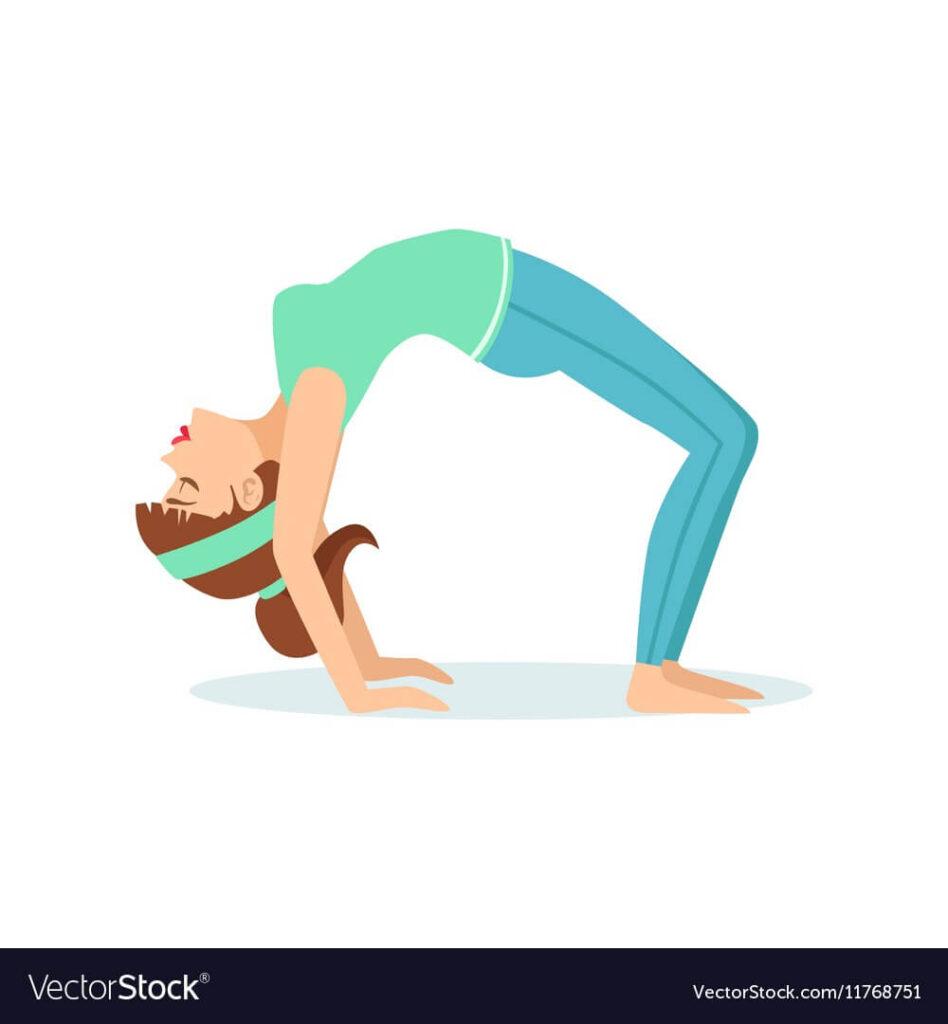 Chakrasana yoga pose