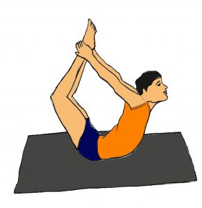 Dhanurasana yoga pose 40 Yoga for kids in Hindi | Kids yoga poses