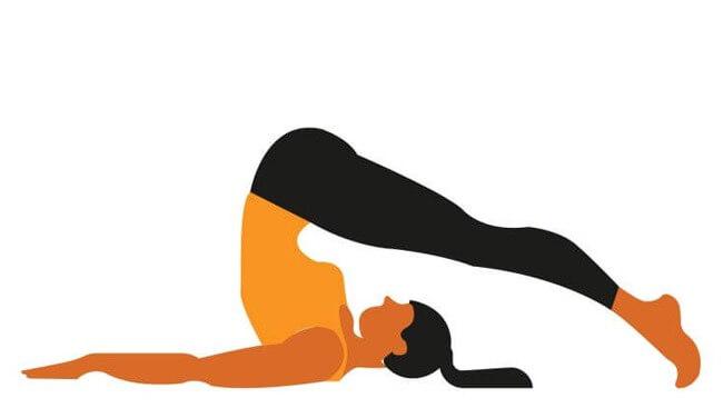 Halsana Yoga Pose