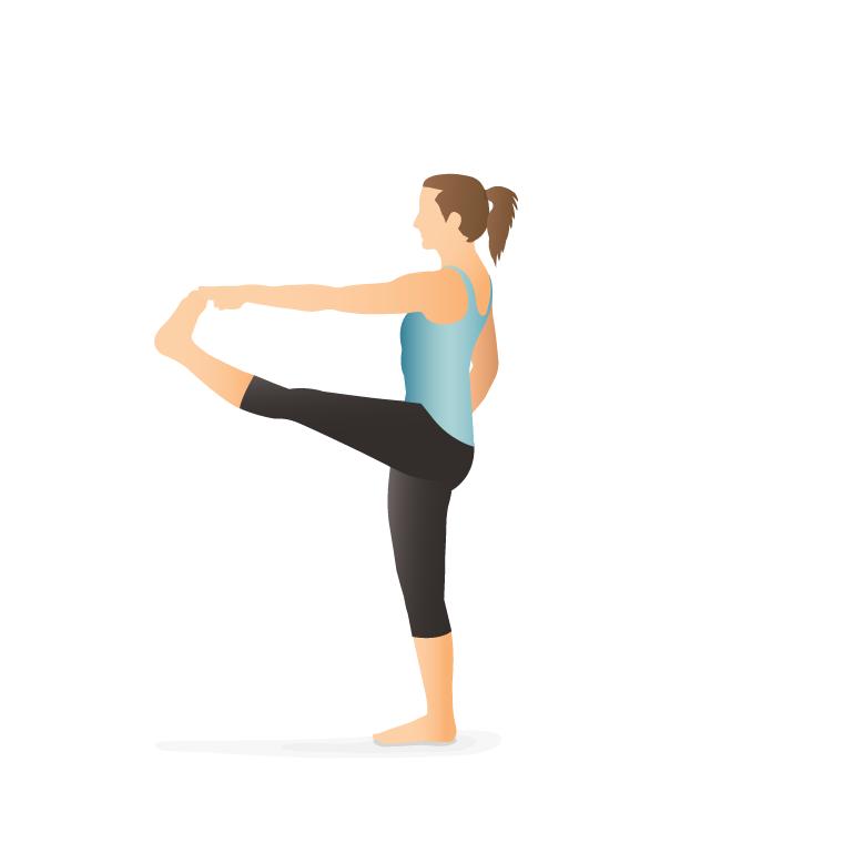 Hand to Toe yoga Pose