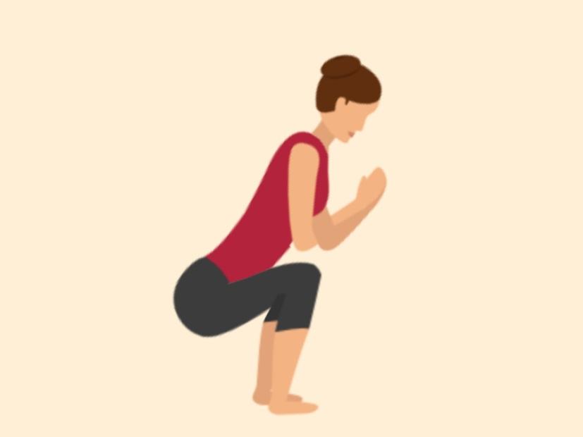 Squat Pose yoga