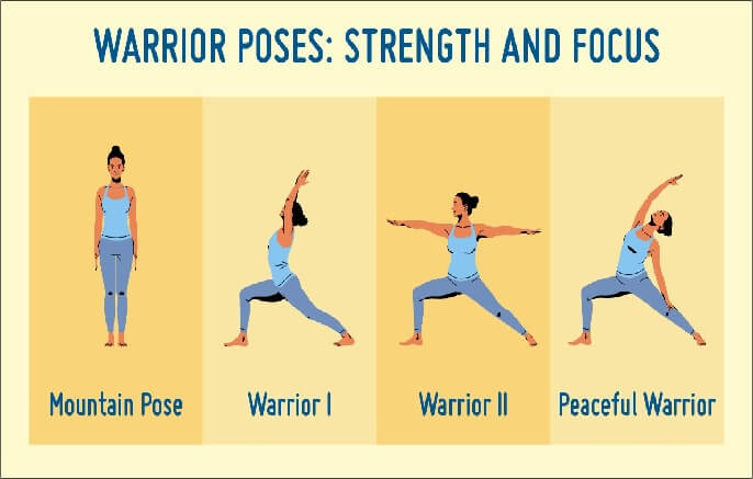 Worrier Kids Yoga Pose