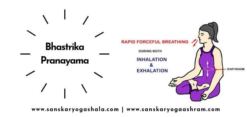 Bhastrika yoga pose